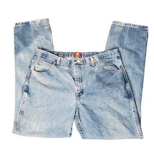 Wrangler Blue Denim Jeans 36MWZOS Slim Cut 38x34